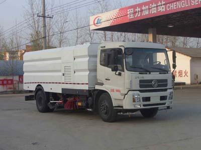 国五东风天锦9+7方洗扫车