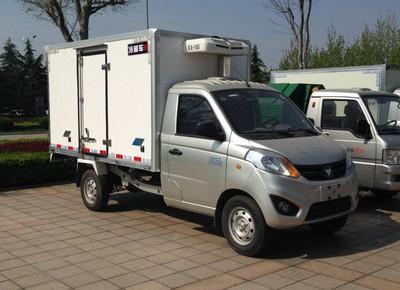 国五福田伽途冷藏车