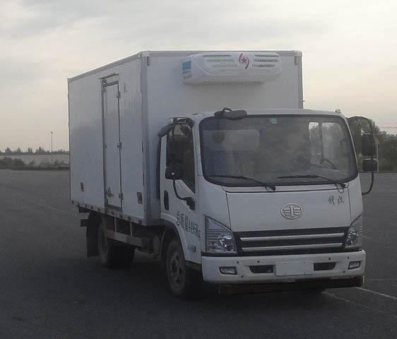 国五解放冷藏车(蓝牌)
