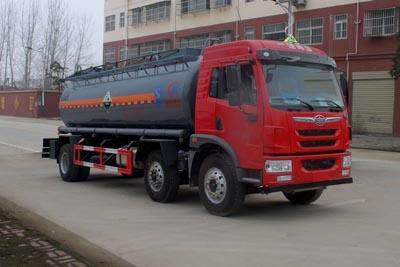国五解放14.2方氨水罐车