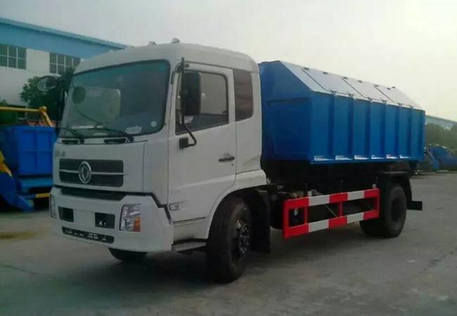 国五东风天锦车厢可卸式垃圾车