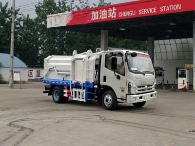 国五福田康瑞压缩式对接垃圾车