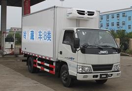 国五江铃厢长4.15米冷藏车