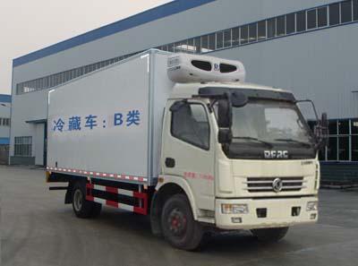 国五东风多利卡D7冷藏车