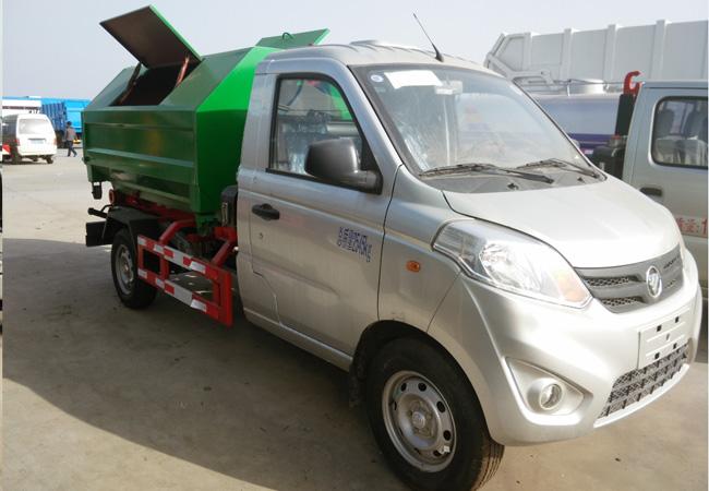 国五福田小卡车厢可卸式垃圾车