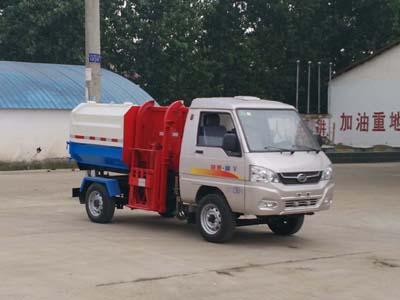 国五凯马挂桶式垃圾车