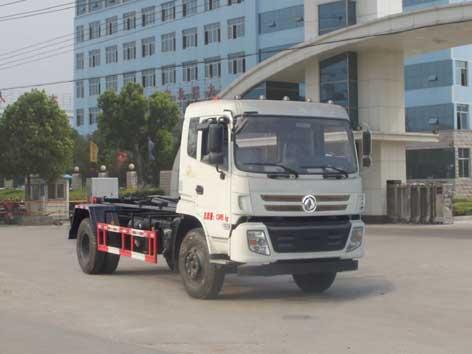国五东风8-10方车厢可卸式垃圾车