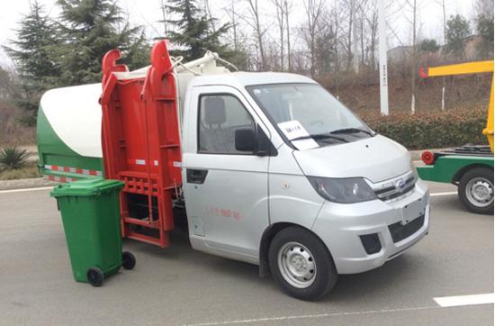 国五长安挂桶垃圾车