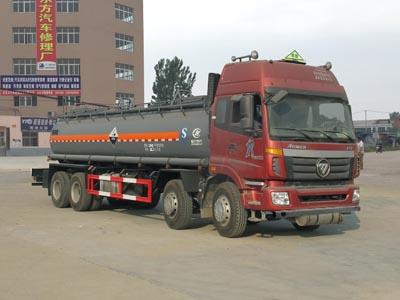 国五欧曼腐蚀性物品罐式运输车