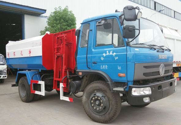 国五东风153或嘉运自装卸式垃圾车