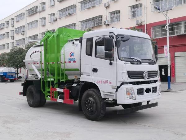 程力威牌CLW5160TCAE6型餐厨垃圾车