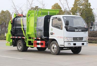 程力威牌CLW5071TCAE5型餐厨垃圾车