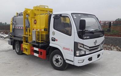 程力威牌CLW5040TCALS6型餐厨垃圾车